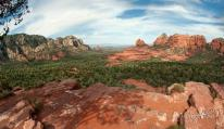 Red Rock formations and blue skies galore